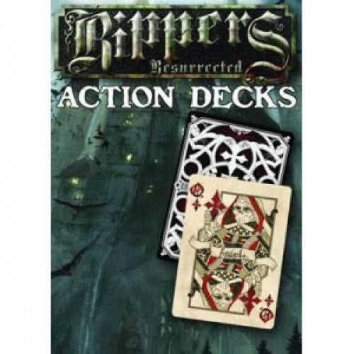 Buy Savage Worlds - Rippers Resurrected: Action Deck and more Great RPG Products at 401 Games