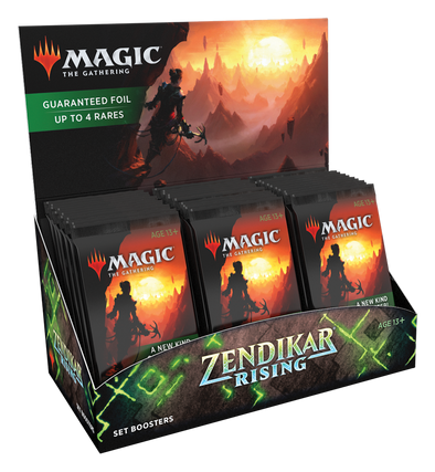 MTG - Zendikar Rising - Set Booster Box available at 401 Games Canada