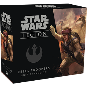 Buy Star Wars - Legion - Rebel - Rebel Troopers and more Great Tabletop Wargames Products at 401 Games