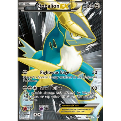 Buy Cobalion-EX - 133/135 - Full Art and more Great Pokemon Products at 401 Games