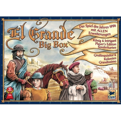 Buy El Grande - Big Box and more Great Board Games Products at 401 Games