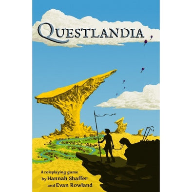 Questlandia - Core Rulebook available at 401 Games Canada