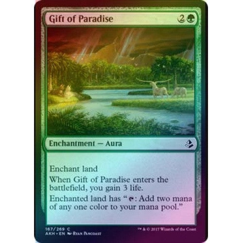 Gift of Paradise (Foil) (AKH) available at 401 Games Canada