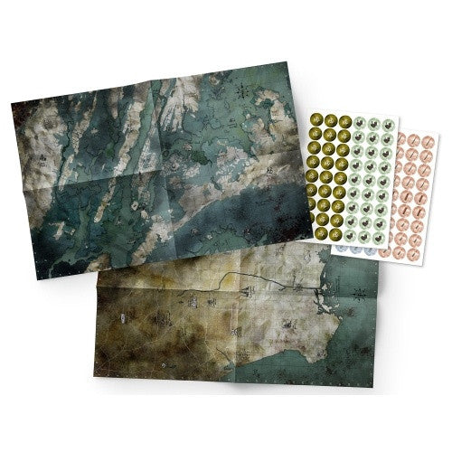 Mutant: Year Zero - Maps & Markers Pack available at 401 Games Canada