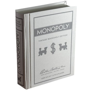 Monopoly - Vintage Book Shelf Edition available at 401 Games Canada