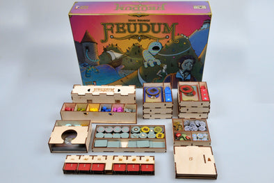 Meeple Realty - Feudum - Box Insert - 401 Games