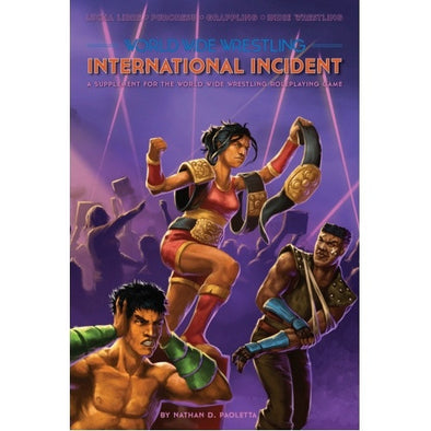 Buy Apocalypse - World Wide Wrestling - International Incident and more Great RPG Products at 401 Games