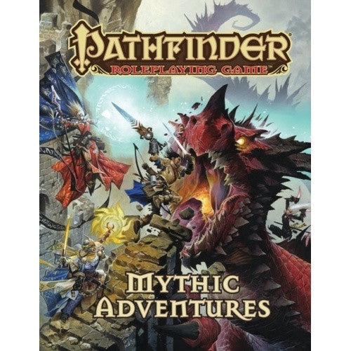 Buy Pathfinder - Book - Mythic Adventures and more Great RPG Products at 401 Games