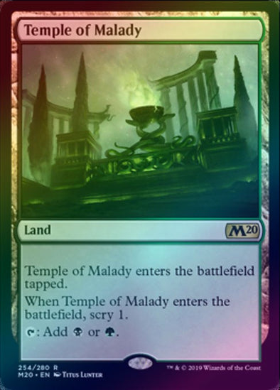 Temple of Malady (Foil) (M20) - 401 Games