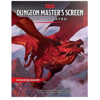Dungeons and Dragons 5th Edition -Dungeon Master's Screen Reincarnated - 401 Games