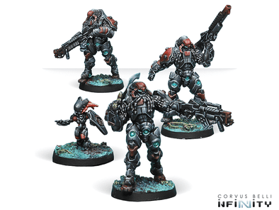 Infinity - Combined Army - Suryats, Assault Heavy Infantry - 401 Games