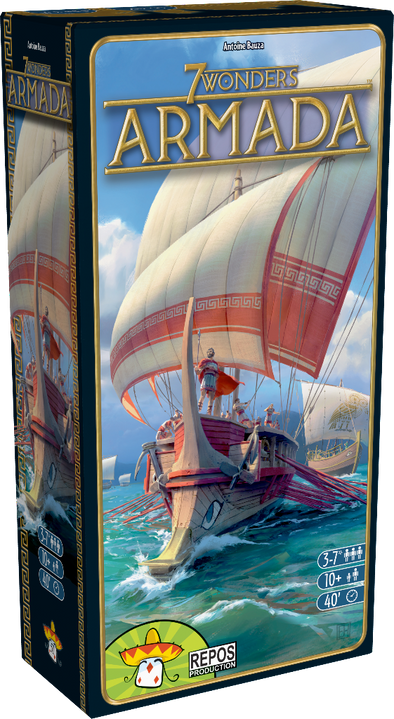 Buy 7 Wonders - Armada and more Great Board Games Products at 401 Games