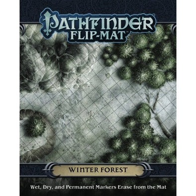 Pathfinder - Flip Mat - Winter Forest - 401 Games