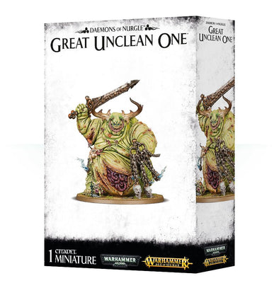 Buy Warhammer - Age of Sigmar - Daemons of Nurgle - Great Unclean One and more Great Games Workshop Products at 401 Games