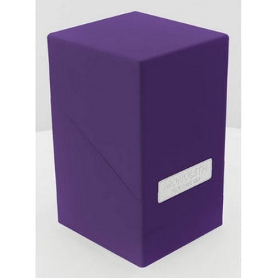 Buy Ultimate Guard - Monolith Deck Case - Purple and more Great Sleeves & Supplies Products at 401 Games