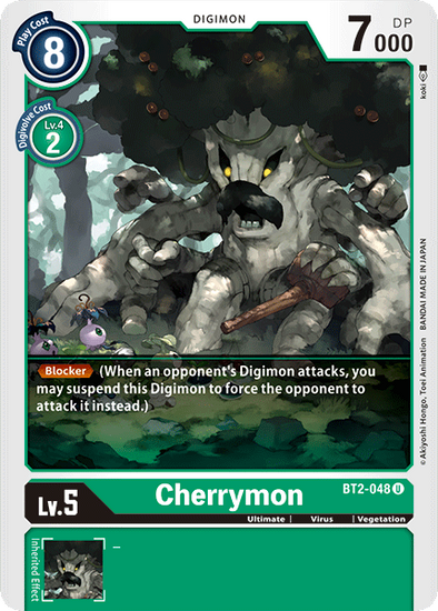 Cherrymon (BT2-048) available at 401 Games Canada