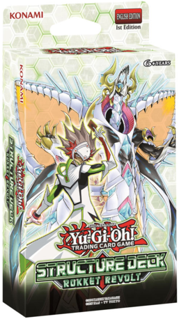 Buy Yugioh - Rokket Revolt Structure Deck (Pre-Order Aug 15, 2019) and more Great Yugioh Products at 401 Games