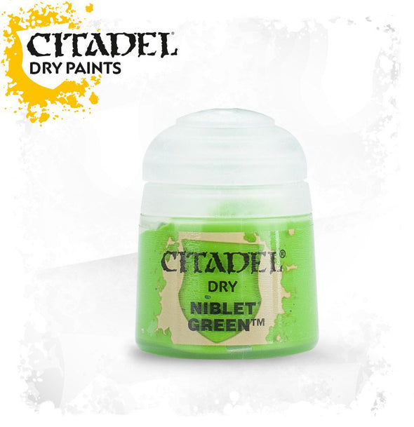 Buy Citadel Dry - Niblet Green and more Great Games Workshop Products at 401 Games