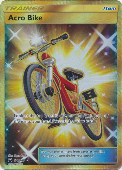 Buy Acro Bike - 178/168 - Secret Rare and more Great Pokemon Products at 401 Games