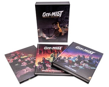 Buy City of Mist - Premium Box Set (Pre-Order) and more Great RPG Products at 401 Games