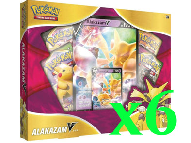 Pokemon - Alakazam V Box - Case of 6 available at 401 Games Canada
