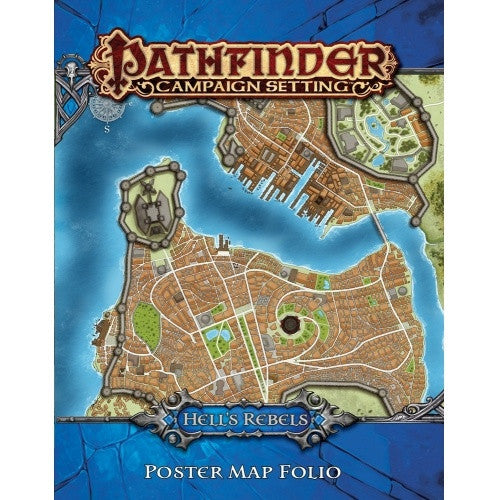 Pathfinder - Campaign Settings - Hell's Rebels Poster Map Folio