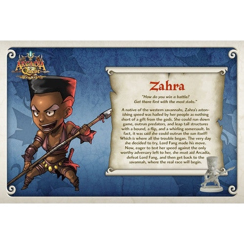 Buy Arcadia Quest - Zahra and more Great Board Games Products at 401 Games