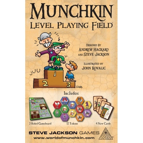 Munchkin - Level Playing Field - 401 Games