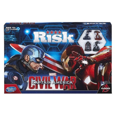 Risk - Marvel Captain America - Civil War - 401 Games