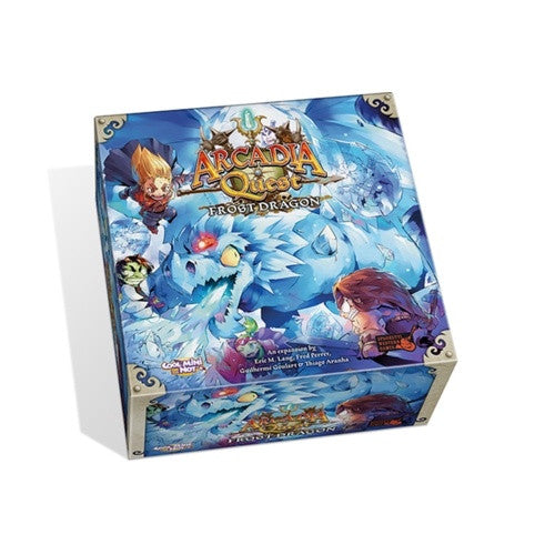 Buy Arcadia Quest - Frost Dragon Expansion and more Great Board Games Products at 401 Games