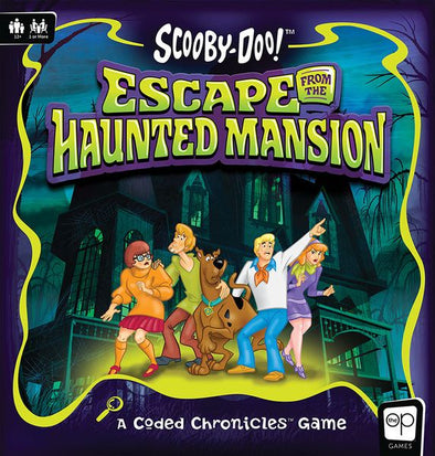 Scooby Doo! Escape from the Haunted Mansion - A Coded Chronicles Game - 401 Games