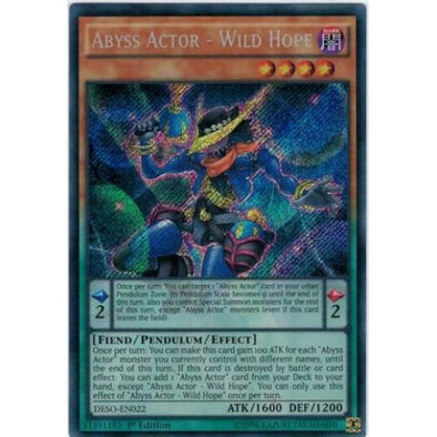 Abyss Actor - Wild Hope - (Secret Rare) available at 401 Games Canada