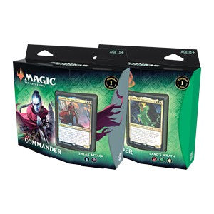 MTG - Zendikar Rising - Commander Decks - Set of 2 available at 401 Games Canada