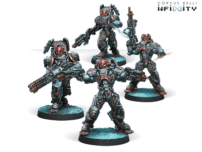 Infinity - Combined Army - Rodok, Armed Imposition Detachment available at 401 Games Canada
