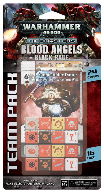 Buy Dice Masters - Warhammer 40,000 - Blood Angels Black Rage Team Pack (Pre-Order) and more Great Dice Masters Products at 401 Games