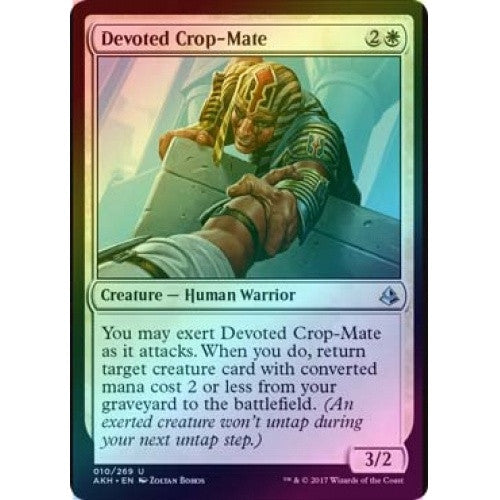 Devoted Crop-Mate (Foil) (AKH) available at 401 Games Canada