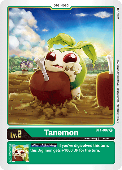 Tanemon (BT1-007) available at 401 Games Canada