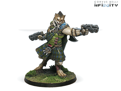 Infinity - Ariadna - 2nd Irregular Cameronians Reg. (Chain Rifle, AP CCW) - 401 Games