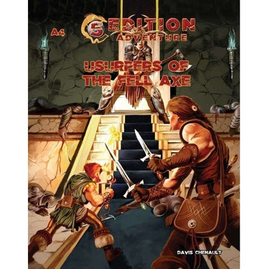 Buy Dungeons and Dragons - 5th Edition - 5th Edition Adventures: A4 - Usurpers of the Fell Axe and more Great RPG Products at 401 Games