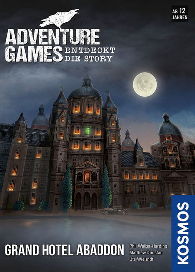 Adventure Games: The Grand Hotel Abaddon (Pre-Order) available at 401 Games Canada