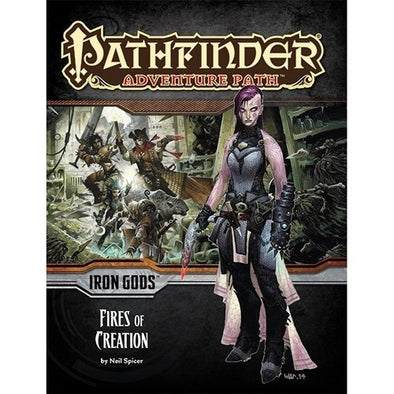 Pathfinder - Adventure Path - #85: Fires of Creation (Iron Gods 1 of 6) available at 401 Games Canada