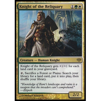 Knight of the Reliquary (CON) available at 401 Games Canada