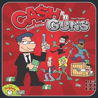 Cash 'N Guns - 2nd Edition available at 401 Games Canada