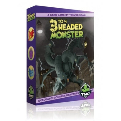 Buy 3 to 4 Headed Monster and more Great Board Games Products at 401 Games