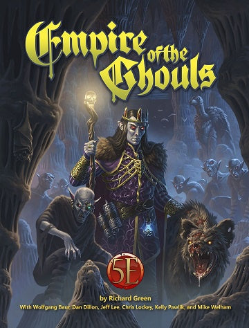 Dungeons & Dragons - 5th Edition - Kobold Press - Empire of the Ghouls (Pre-Order) - 401 Games