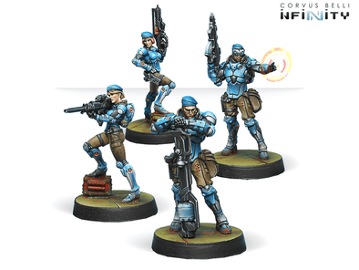 Infinity - PanOceania - Fusiliers - 401 Games
