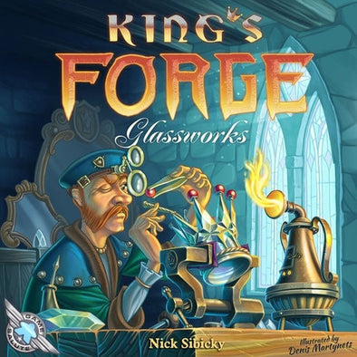 King's Forge - Glassworks Expansion available at 401 Games Canada