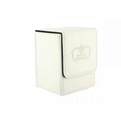 Ultimate Guard - Flip Deck Case Leatherette 100+ - White - 401 Games