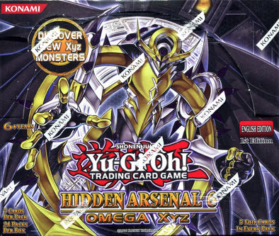 Buy Yugioh - Hidden Arsenal 6 Booster Box and more Great Yugioh Products at 401 Games