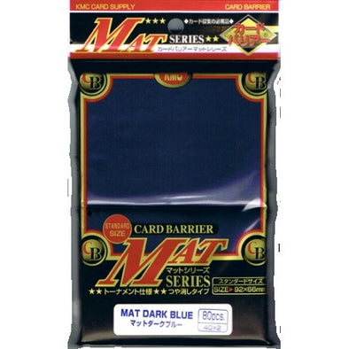 Buy KMC standard Mat Dark Blue 80 Ct Sleeves and more Great Sleeves & Supplies Products at 401 Games